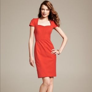 Banana Republic Sloan Sheath Work Dress OP